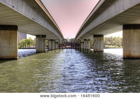 Commonwealth Bridge in Canberra Australia