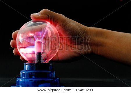 Plasma Tesla Ball