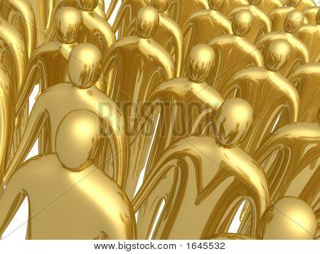 3D Crowd