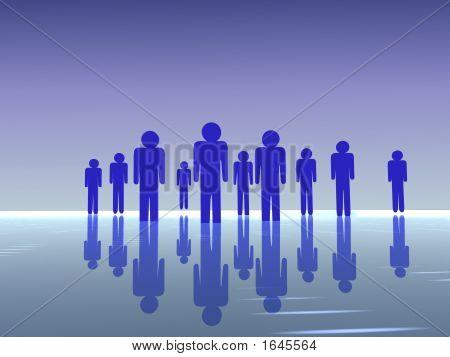3D Leute