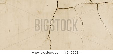 Old cracked wall (remarkable abstract backgrounds and objects series)