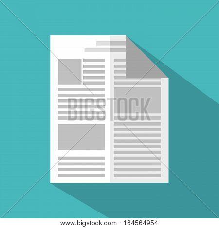 Documents icons. Report. Paper symbol flat design