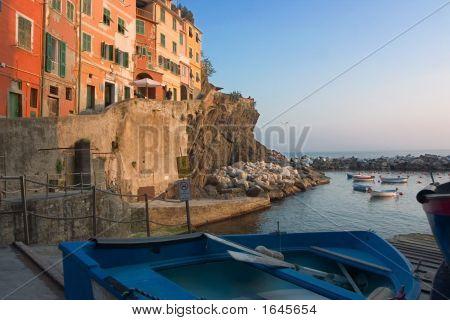 Harbor In Riomaggiore