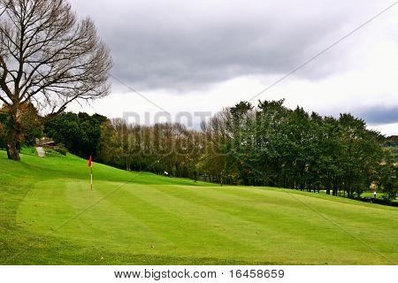 Beautiful golf park