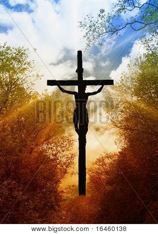 Jesus Crucifixion, symbol of God's love to people