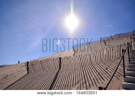 Famous Dune Of Pyla France.