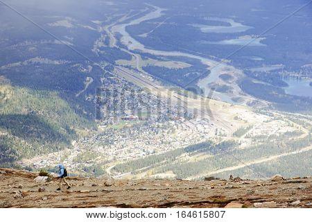 View From Jasper In Canada Alberta