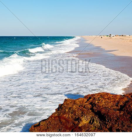 In Oman Coastline Sea Ocean