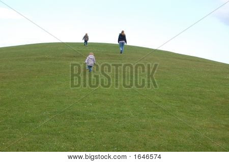 A Family Up A Hill
