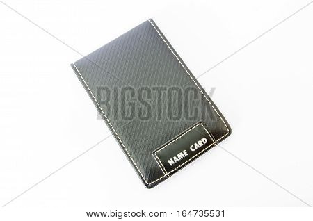 Card Holder business accessory isolated on white