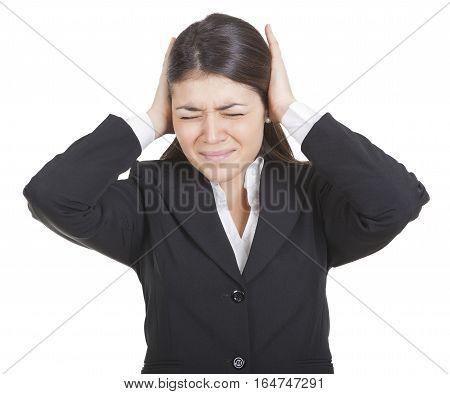 Woman With Painful Headache