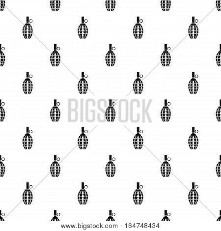 Grenade pattern. Simple illustration of grenade vector pattern for web