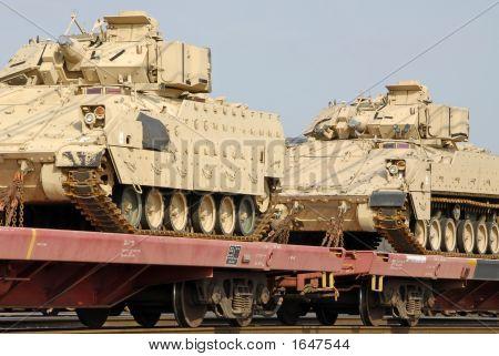 Military Tank Shipment