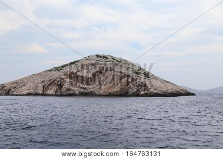 This is one of the many uninhabited islands of Kornati National Nature Reserve in Croatia.