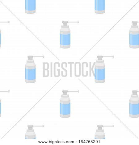 Throat spray icon cartoon. Single medicine icon from the big medical, healthcare cartoon. - stock vector