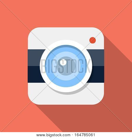 Vector Camera icon, design element for mobile and web applications, eps 10