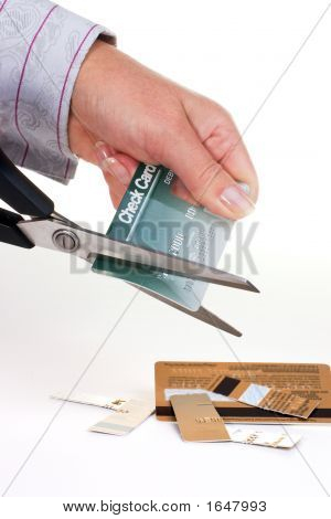 Destroying Credit Cards