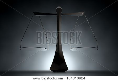 Modern Scales Of Justice