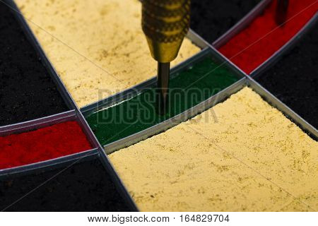 Success Hitting Target Aim Goal Achievement Concept Background
