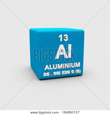 Aluminium is a chemical element in the boron group with symbol Al and atomic number 13.