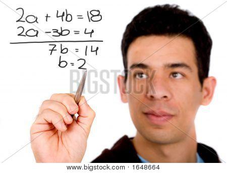 Estudiante de matemáticas