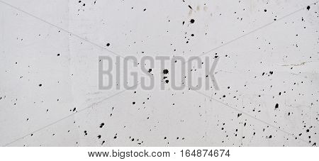 Plaster, plaster white color on a concrete wall. Stucco white wall background or texture. Plaster texture, plaster background. White wall, white background.