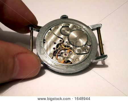 Old Watch Inside