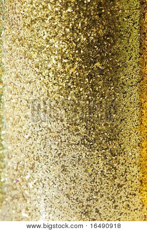Glitter funkelt Staub auf Background, shallow DOF