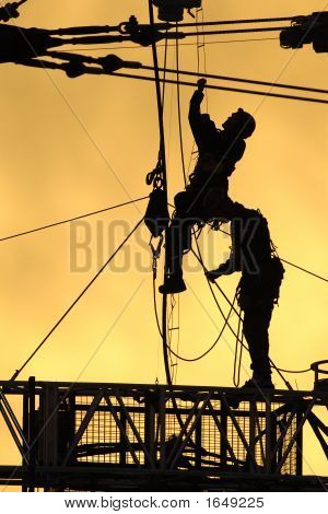 Silhouette Workers