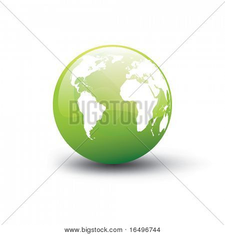 conceito de terra ambiental / vector illustration