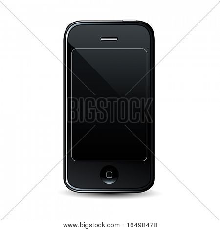 Modern smartphone - professional vector icon