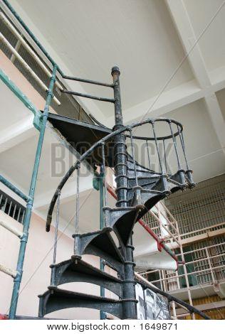 Vintage Spiral Stairway