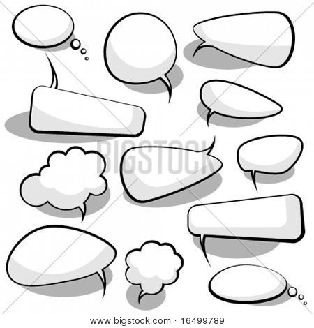 Discurso y burbujas de pensamiento