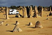 stock photo of campervan  - Tour Australia by Campervan  - JPG