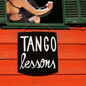 stock photo of tango  - Tango Lessons  - JPG