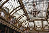Glass Art Nouveau Ceiling