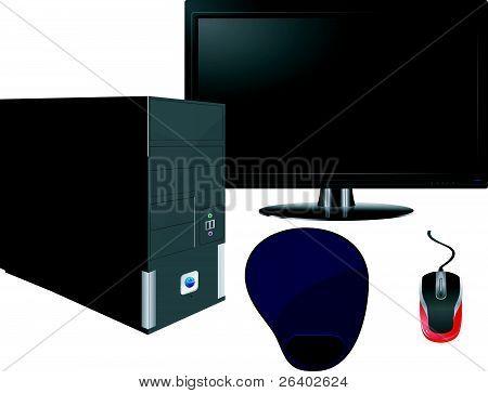 Set  Of Computer Components