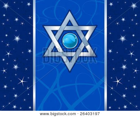 Star of David (Magen David) Holiday design