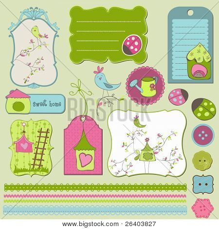 Bird House Design Elements
