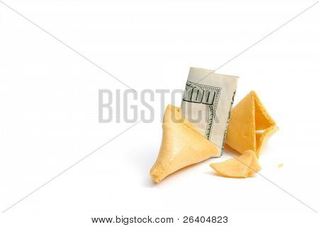 Fortune Cookie $100 Dollar Good Luck