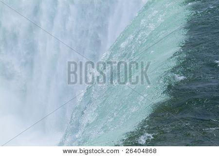 Niagara Falls Close Up Millionen Liter Schaummittel tobenden Wasser