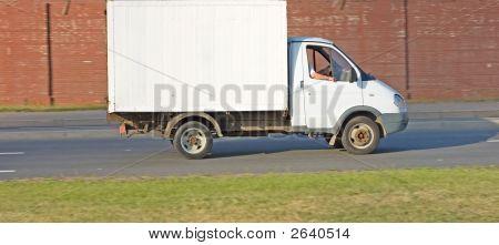 Blank White Van Truck  Of My Vehicles Series