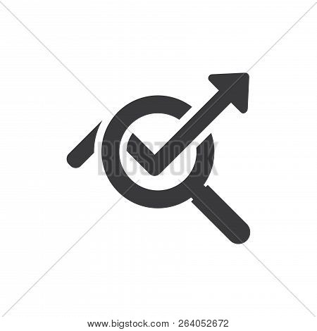poster of Statistics Vector Icon On White Background. Statistics Icon In Modern Design Style. Statistics Vecto