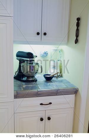 Elegant custom designed country kitchen