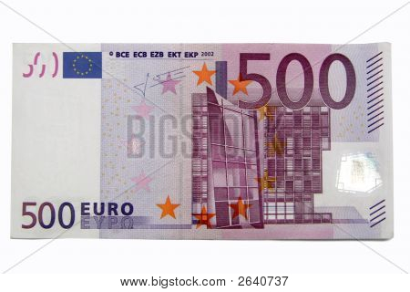 500 Euro Banknote Stock Photo & Stock Images | Bigstock
