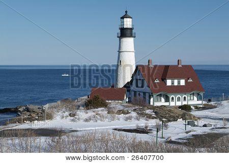 Portland head light house Maine