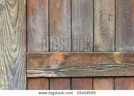 Wood door weathered wall texture background