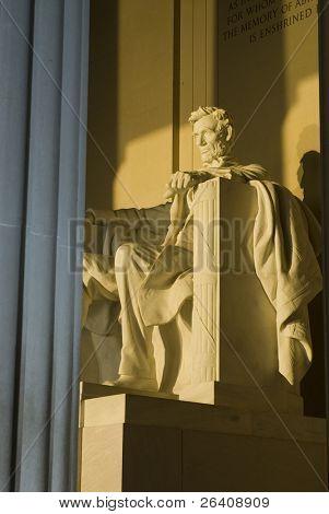 Lincoln Memorial rise Washington DC travel series 50