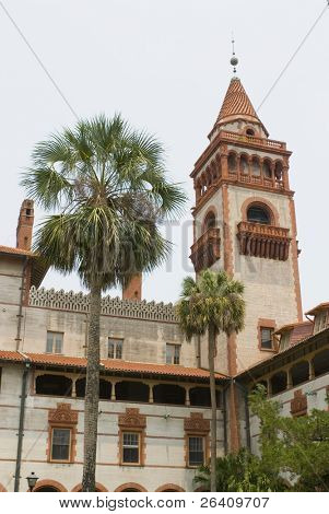 Flagler College St. Augustine Florida building tower 02
