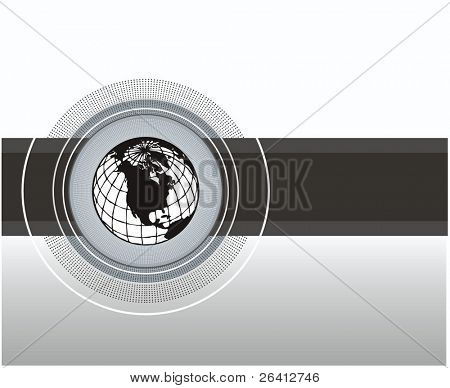 business design ellements,earth globe map circuit,vector illustration scalable at any size